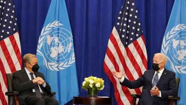 Biden ve Guterres New York'ta bir araya geldi