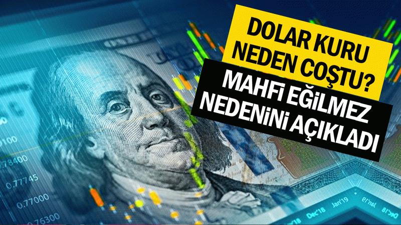 Dolar fiyatı neden coştu? Mahfi Eğilmez açıkladı