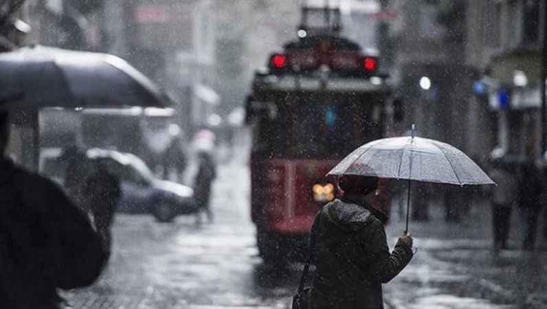 Hava durumu: İstanbul ve çok sayıda ile sağanak yağış uyarısı