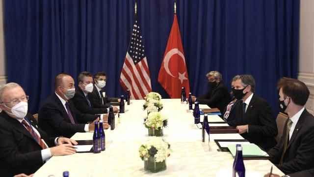 Bakan Çavuşoğlu'dan ABD'de krtik görüşme!