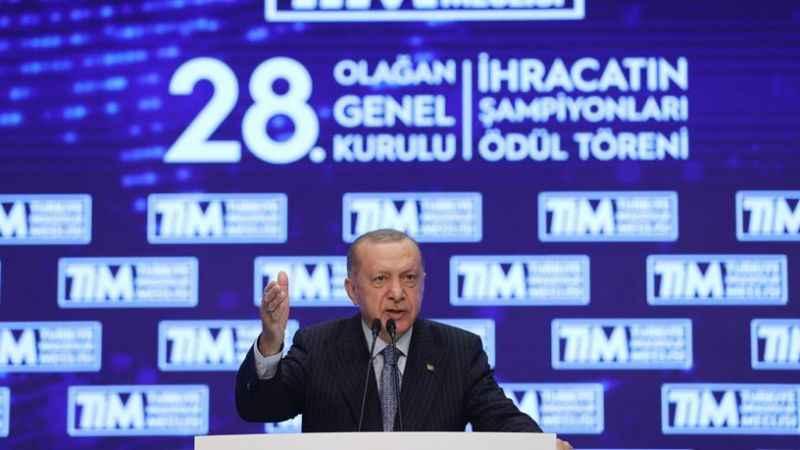 Erdoğan'ın kast ettiği ihracat belli oldu! Çin malına Türk damgası