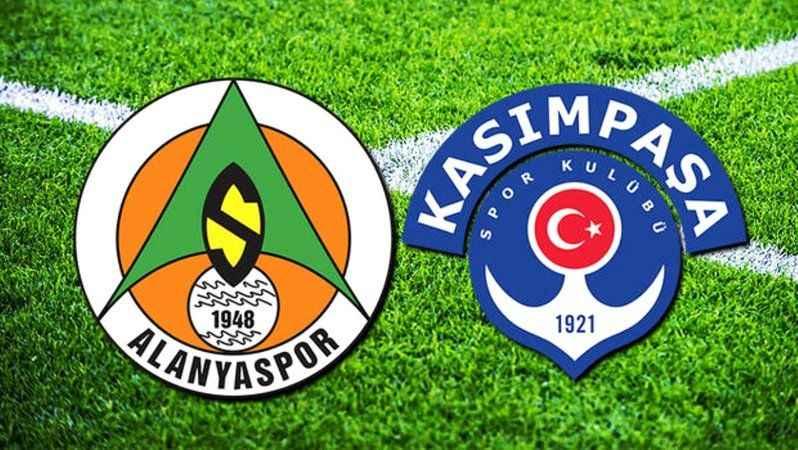 Alanyaspor - Kasımpaşa maçı hangi kanalda ne zaman saat kaçta?