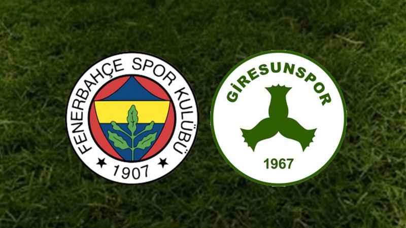 Fenerbahçe - Giresunspor maçı hangi kanalda, ne zaman, saat kaçta?