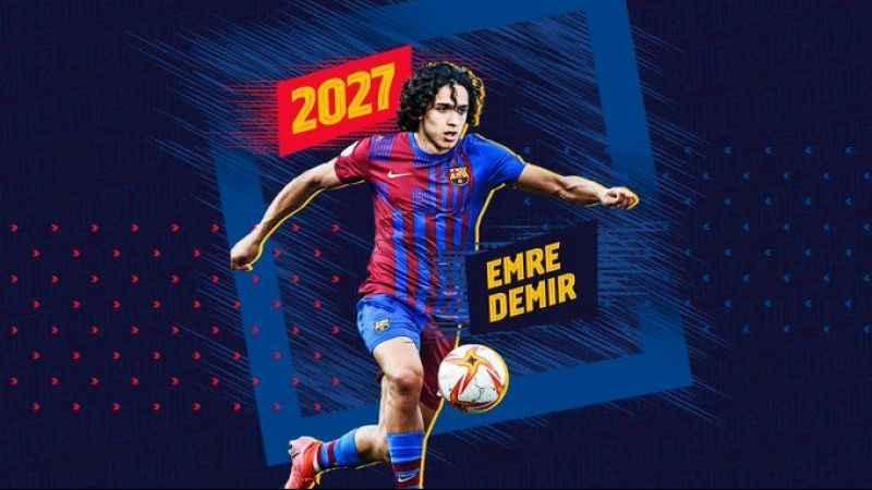 Kayseri'den, Barcelona'ya transfer oldu!