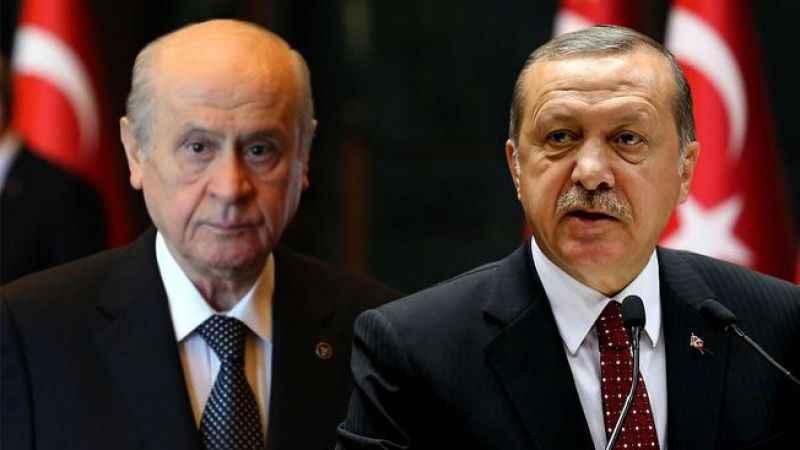 Ünlü anketçiden çarpıcı iddia: 'Bahçeli, Erdoğan'a rest çekti...'