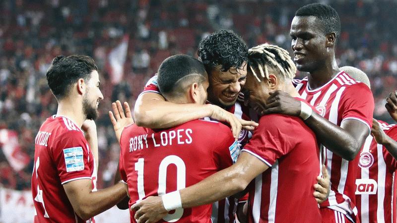Fenerbahçe'nin rakibi Olympiakos, Apollon'u 4 golle geçti