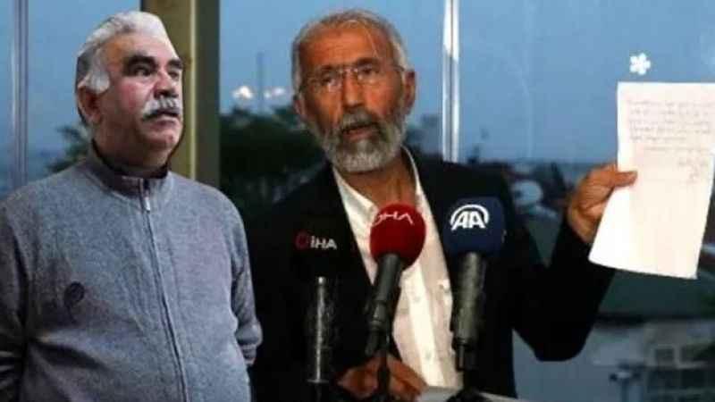 Sır görüşmeyi itiraf etti! Terörist Öcalan'dan önce kimle görüştü