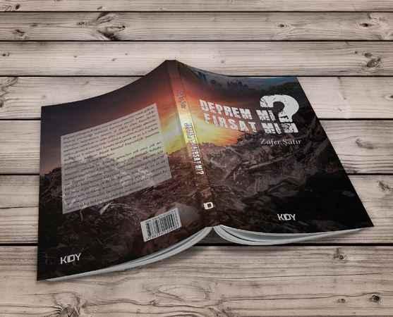 Yazar Zafer Şatır'dan İstanbul Depremi için tavsiyeler kitabı