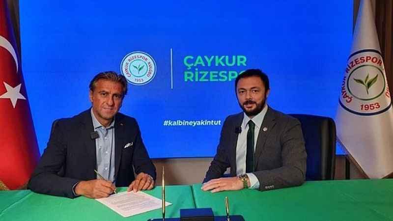 Çaykur Rizespor, Hamza Hamzaoğlu'na emanet!
