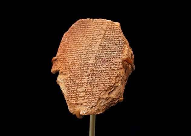 """ABD Irak'tan çaldığı 3 bin 500 yıllık """"Gılgamış Tableti""""ni iade etti"""