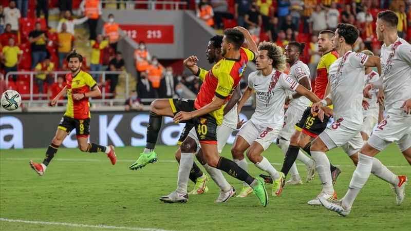 Göztepe çıktığı 14. karşılaşmasında da gol yedi