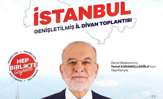 Saadet İstanbul divanı, Karamollaoğlu'nun katılımıyla gerçekleşecek