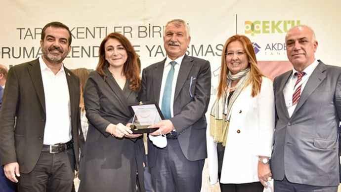 Tarihi Kentler Birliği'nden Adana Büyükşehir Belediyesi'ne ödül