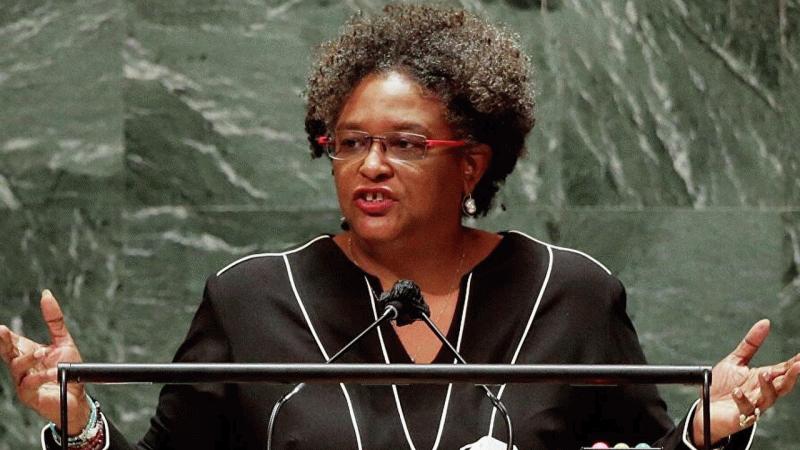Barbados Başbakanı BM Genel Kurulunu boş görünce tepki gösterdi