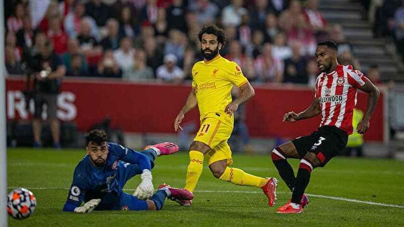 Brentford - Liverpool maçında gol yağdı ama kazanan çıkmadı
