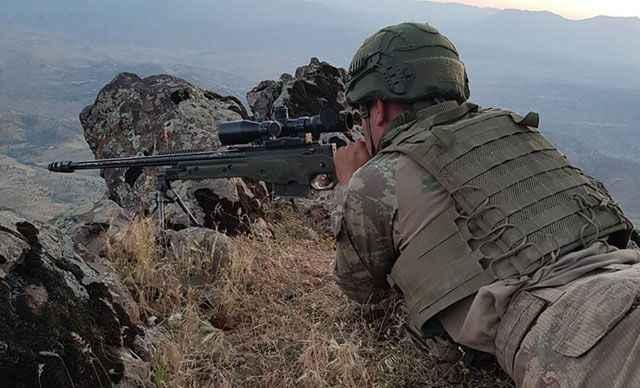 MSB Zeytin Dalı bölgesinde 6 PKKYPG'li etkisiz hale getirildi