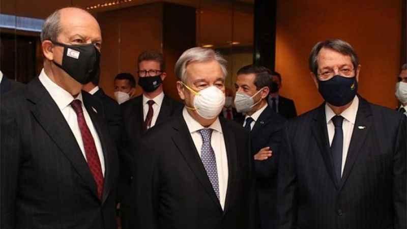 Guterres ve KKTC Cumhurbaşkanı Tatar'dan kritik görüşme