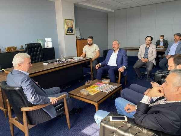 Bakan Gül'den Millî Gazete'ye ziyaret