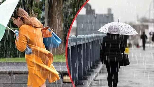 İstanbullular dikkat! Meteoroloji uyardı: Yağışlı hava 5 gün sürecek