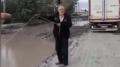 Kars'ta esnaf, bitmeyen yol çalışmasını bakın nasıl protesto etti!