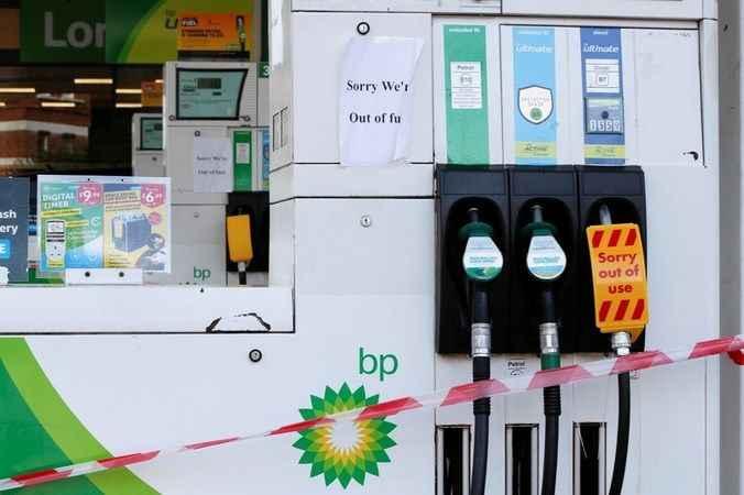 BP istasyonlarında yakıt tükendi! Akaryakıt krizinde ordu devrede