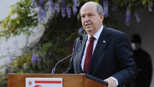 KKTC lideri Tatar: Kıbrıs Türk halkının haklarını koruyacağız