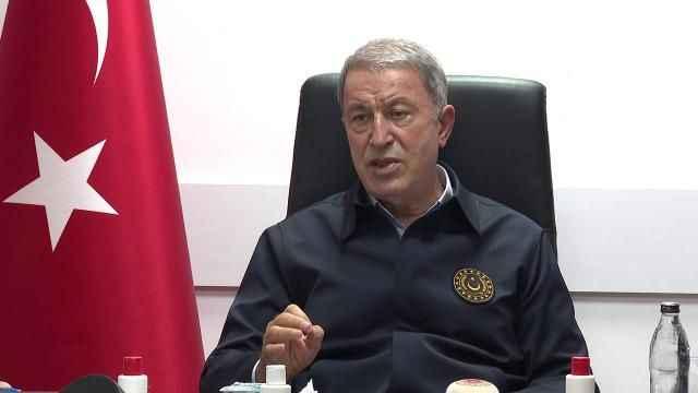 Milli Savunma Bakanı Hulusi Akar Biz anlaşmaya uyuyoruz