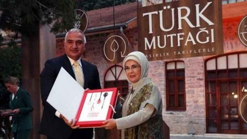 Emine Erdoğan'ın 'yemek tarifi' kitabı TBMM gündeminde