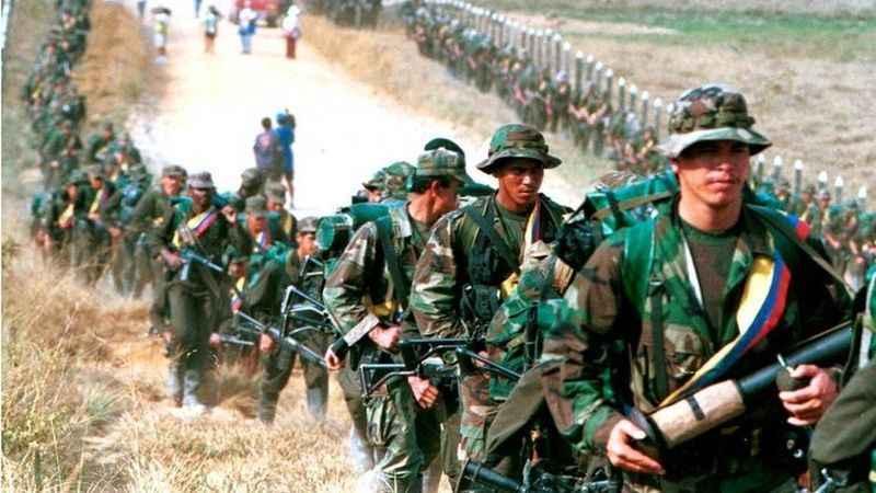 FARC üyelerine operasyon: 10 militan öldürüldü