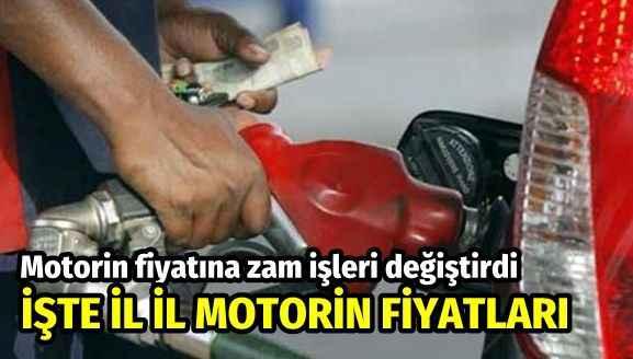 Motorin fiyatına zam işleri değiştirdi! İşte güncel motorin fiyatları