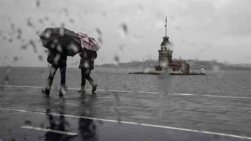 Hava Durumu: Marmara'da İstanbul dahil çok sayıda ile yağış uyarısı