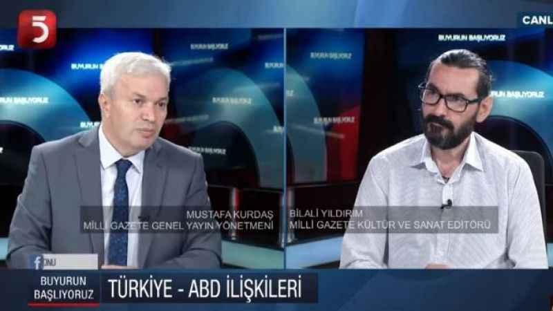 Kurdaş'tan Erdoğan'a ABD tepkisi: En büyük tehdit rotasız yolculuktur