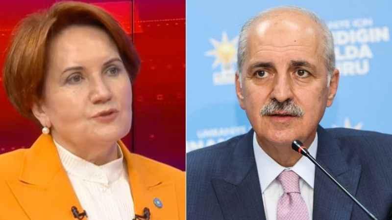 Numan Kurtulmuş'tan Akşener'e: 2023'te başbakanlık oylanmayacak