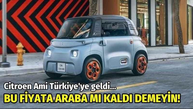 ÖTV olmayacak, 62 bin TL'ye sıfır araba: Citroen Ami Türkiye'ye geldi
