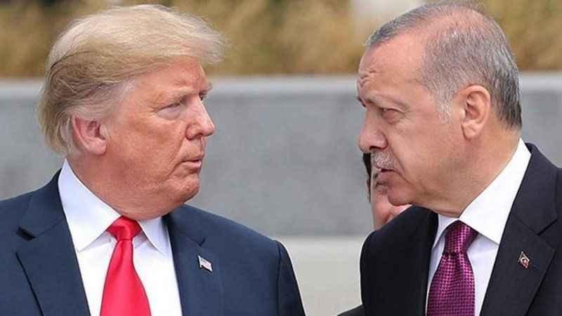Trump'ın Erdoğan'a sorusu Türk heyetini buz kestirmiş!