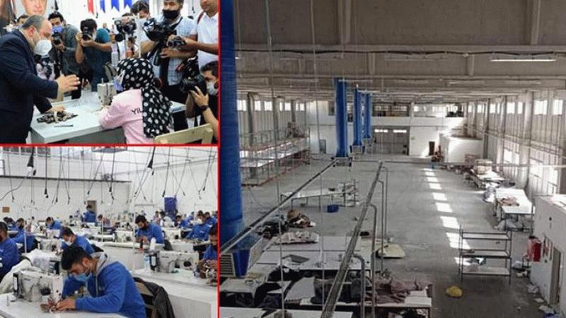 Bakan Varank'ın açılışını yaptığı fabrika yerinde yok! Patron kaçtı...