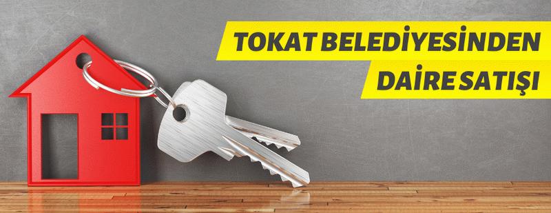 Tokat Belediyesi 12 adet daireyi satışa çıkardı