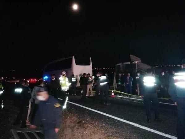 Nevşehir'de öğrencileri taşıyan otobüs kaza yaptı: 40 yaralı