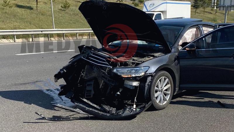 Gazeteci Hande Fırat Bolu'da trafik kazası geçirdi