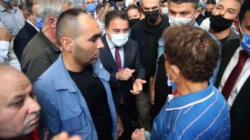 Mersin'de Ali Babacan'a sert tepki! Abdullah Gül üzerinden savundu