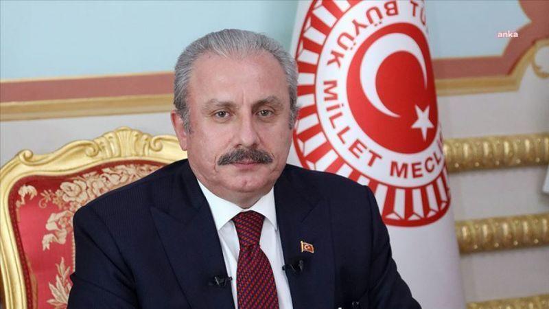"""MECLİS BAŞKANI ŞENTOP': """"AKÇAKOCA MÜFTÜSÜ'NÜN KONUŞMASI CAHİLCE"""""""