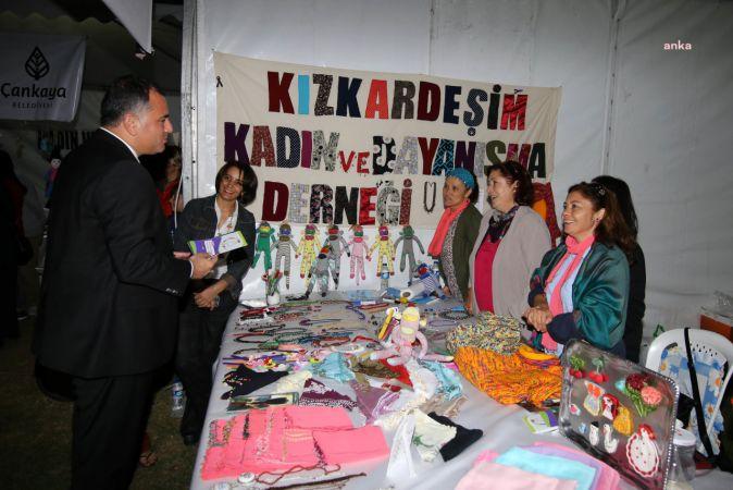 ÇANKAYA BELEDİYESİ'NDEN ŞENLİKLE ÇİFTE DESTEK