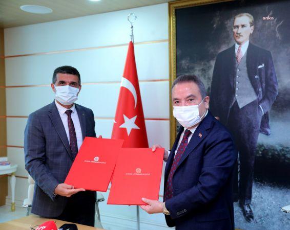 ANTALYA BÜYÜKŞEHİR'DEN İŞÇİSİNE 3150 TL BANKA PROMOSYONU