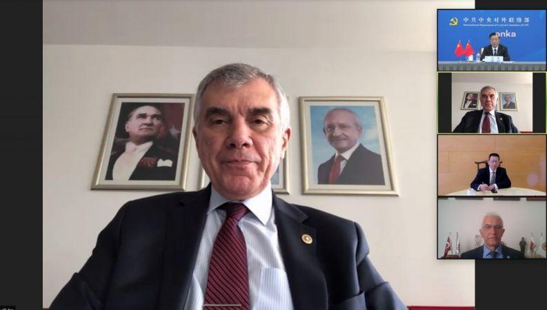 CHP İLE ÇİN KOMÜNİST PARTİSİ TOPLANTI YAPTI
