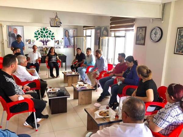 CHP'DEN HDP'YE TAZİYE ZİYARETİ