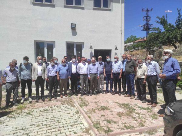 CHP'Lİ AĞBABA VE TUTTERE MALATYA'DA: MADEN OCAĞI ÖLDÜRÜYOR