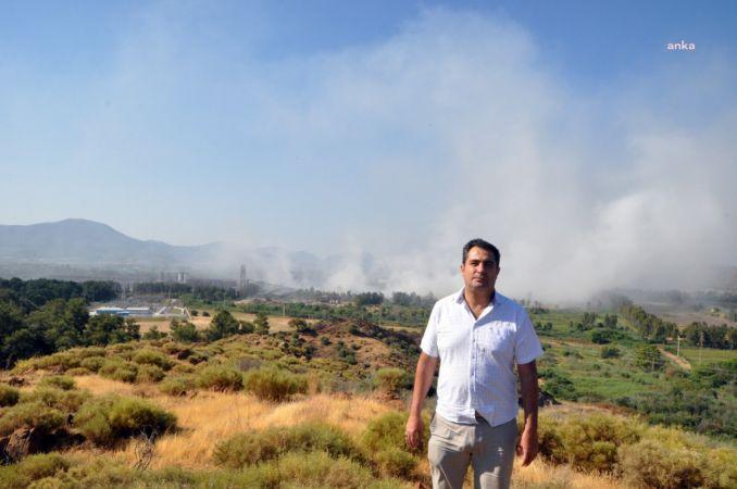 DALAMAN'DA ÜST ÜSTE İKİ GÜN YANGIN ÇIKAN FABRİKA KAPATILDI