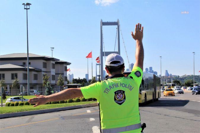 İSTANBUL'DA 7 GÜNDE 14 BİN 635 ARAÇ SÜRÜCÜSÜNE 36 BİN 850 CEZA
