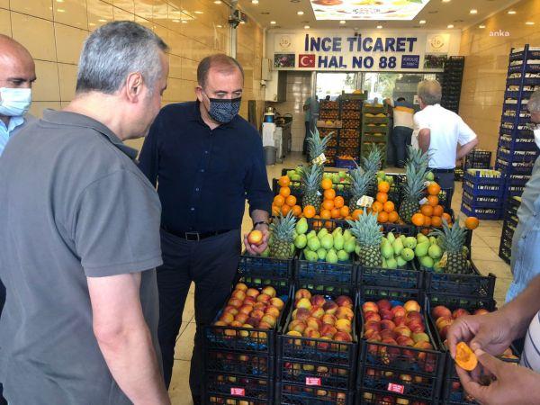 """CHP'Lİ TEKİN: """"HAL ESNAFI CAN ÇEKİŞİYOR"""""""