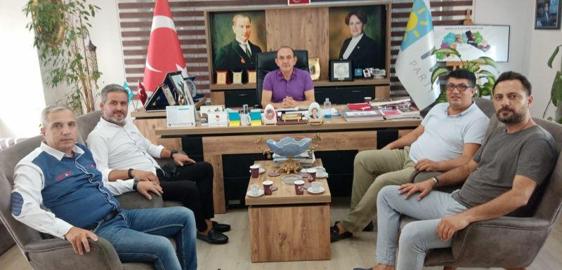 """MEHMET BAŞARAN: """"ANTALYA'DA DERELER İYİ PARTİYE AKIYOR"""""""